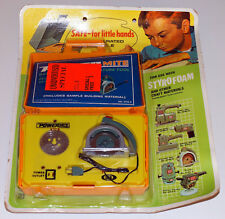 Powermite Vintage Ideal Circular Saw Tool 1969 Nos Mint on Blister Card Pwc