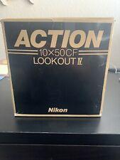 NIKON ACTION LOOKOUT IV 10x50 BINOCULARS