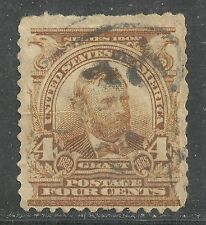 U.S. stamp scott 303 - 4 cent Grant issue of 1903