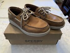 Sperry Top-Siders - Boys Boat Shoes Tan - Size 2.5M
