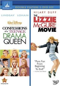 Confession Teenage Drama Queen & Lizzie McGuire [New DVD]