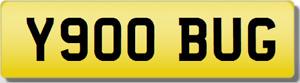 BUG Private Cherished Registration Number Plate VW BEETLE V DUB VOLKSWAGEN GOLF