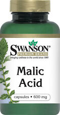 MALIC ACID 600MG ATP PRODUCTION CELL CELLULAR FUEL ENERGY SUPPLEMENT 100 CAPSULE