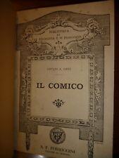 GIULIO A. LEVI IL COMICO A.F. Formiggini Genova 1913