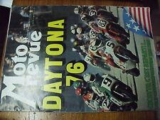 µ?  Moto Revue n°2259 Daytona 76 Montesa 125 Cappra Zundapp KS 50 Poster G.Nixon