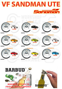 Holden VF - SANDMAN UTE - Magnetic Bottle Opener - BARBUD