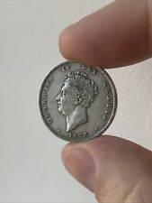 More details for 1826 george iv 0.925 silver one shilling coin