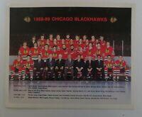 1988 - 89 Chicago Blackhawks Team Photo