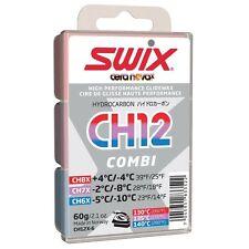 SWIX CH12X Combi pack SKI SNOWBOARD WAX 54G = 18G EACH OF CH6X, CH7X & CH8X