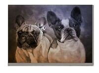 French Bulldog Art Print A4 A3 Matte or Gloss Birthday Xmas Mothers Day Gift