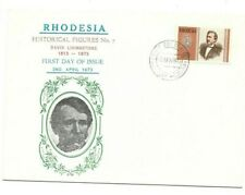 Rhodesia 1973 David Livingstone FDC