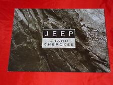 JEEP GRAND CHEROKEE LIMITED 4.0 5.2 prospetto di 1992