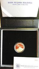 2013 Malaysia 50th Anniversary Of Muzium Negara Proof Single Gold Coin