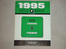 1995 Camaro SS and Trans Am Factory GM Dealership FINAL UPDATE Service Manual