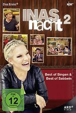 2 DVDs * INAS NACHT 2 - BEST OF SINGEN & SABBELN - INA MÜLLER # NEU OVP