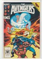 AVENGERS #261 John Buscema Captain America Marvel Beyonder Secret Wars 9.2