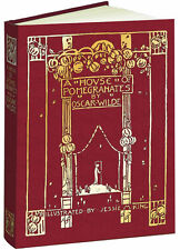 A HOUSE OF POMEGRANATES ~ OSCAR WILDE ~ REPLICA OF 1914 EDITION ~ ILLUSTRATED HC