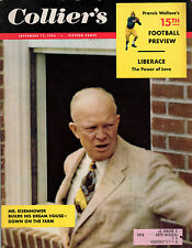 1954 Colliers September 17-Liberace Power of Love; Football Preview; Italy