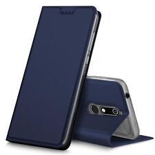 Handy Hülle Nokia 5.1 2018 Book Case Schutzhülle Tasche Slim Flip Cover