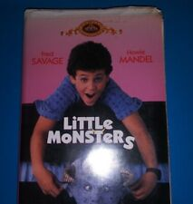 Little Monsters [VHS]  Fred Savage Howie Mandel MGM Classic 1989