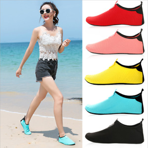 Women Barefoot Water Skin Shoes Aqua Socks for Beach Swimming Surfing Yoga Sport