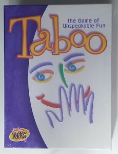 Taboo Game the Game of Unspeakable Fun Hasbro Hersch Factory Sealed 04015