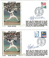 Jeff Reardon signed autographed lot of cachet envelopes! Guaranteed Authentic!