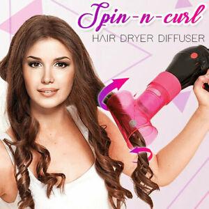 New Upgrade Hair Dryer Diffuser Magic Hair Curler Drying Cap Blow Dryer hot
