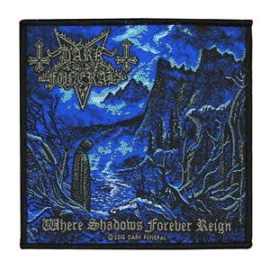 DARK FUNERAL - WHERE SHADOWS FOREVER REIGN - PATCH - BRAND NEW - MUSIC BAND 2859