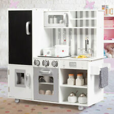 Kids Wooden KitchenCookingPretend Set Play Children Role Play Educational