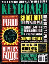 1993 Piano Sampling, Korg Concert C-56M Report, Fender Rhodes Keyboard Magazine