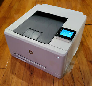 HP LaserJet Pro M252dw Wireless Color Printer 2883 page count New CMY toner