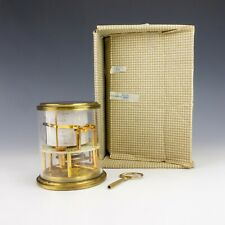 Vintage Maxant French Brass Mounted Barograph Recording Barometer - Boxed!