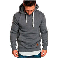 Mens Heavy Blend Hooded Sweatshirt M-5XL Soft Hoodie Outwear Coat Jacket Blouse