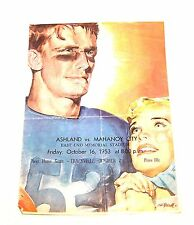 Coca Cola Coke High School Football Program Ashland Mahoney City Pennsylvania Mk