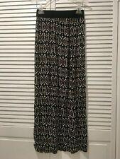 SPARKLE & FADE Stretch Rayon Elastic Waist Maxi Skirt sz.S