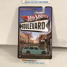 '71 Datsun Bluebird 510 Wagon * Boulevard Hot Wheels * Sale!