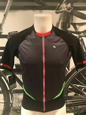 Giordana Cycling FR-C Jersey Short Sleeve |Mens-Black/Green|Size L|BRAND NEW