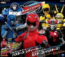 TOKUMEI SENTAI GO-BUSTERS THEME-JAPAN CD Ltd/Ed C94
