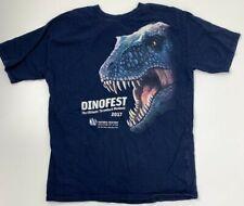 Dinofest 2017 Natürlich Geschichte Museum Von Utah T Jugend Größe XL Dinosaurier