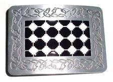 Celtic Rectangle metal Belt Buckle