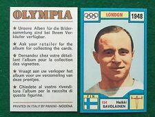 OLYMPIA 1972 n.154 SAVOLAINEN FINLANDIA ANELLI , Figurina Sticker Panini (NEW)