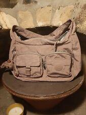 Pink/Gray Kipling Handbag