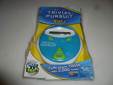 New In Box Trivial Pursuit Hints Hasbro Electronic Family Game Taboo Buzz'D Nib