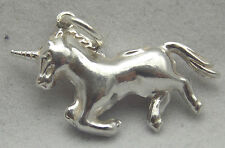 STERLING SILVER 3D UNICORN CHARM CHARM