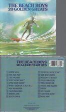 CD--THE BEACH BOYS --20 GOLDEN GREATS