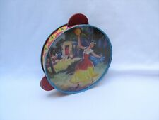 Vintage Chad Valley tin toy tambourine percussion instrument