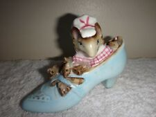 Vintage China Beswick Beatrix Potter's The Old Woman That Lived in a Shoe