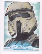 2017 Star Wars Galactic Files Reborn sketch card Shane McCormack