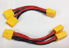 XT60 Parallel Y Cable Harness Connector Cable(2x DUAL LIPO) DJI CX20, NOVA QUAD